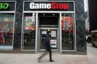 A GameStop store is pictured in New York