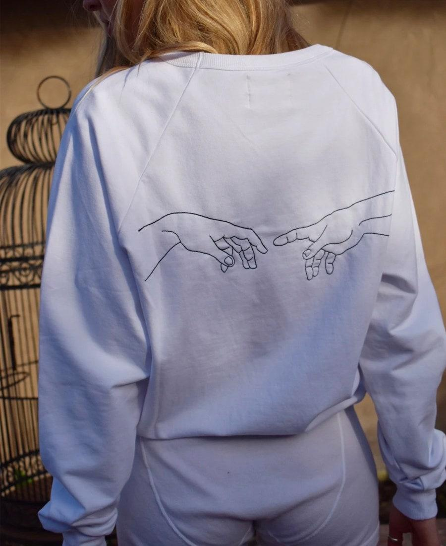 """We say this from experience: """"So ridiculously comfortable."""" $88, Also, Freedom. <a href=""""https://alsofreedom.com/products/create-french-terry-sweatshirt?"""" rel=""""nofollow noopener"""" target=""""_blank"""" data-ylk=""""slk:Get it now!"""" class=""""link rapid-noclick-resp"""">Get it now!</a>"""
