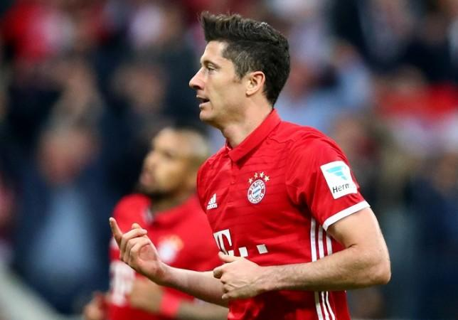 Robert Lewandowski, Bayern Munich, Champions League, Real Madrid vs Bayern Munich