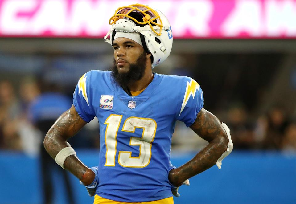 Keenan Allen #13 of the Los Angeles Chargers