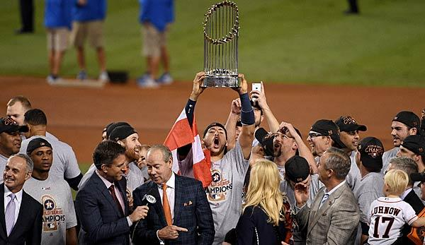 MLB: Houstons World-Series-Sieger lassen Trump zappeln