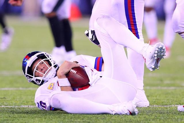 Eli Manning is not having a great year. (Getty)