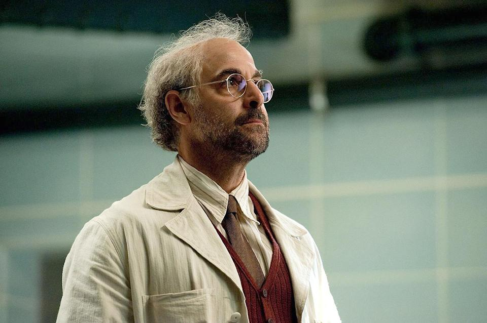 <p>Because it's been so many years, you may have forgotten that Tucci played the German scientist who discovered Steve Rogers and gave him his superpowers. What we're saying is, without Stanley Tucci, there would pretty much be no Captain America. Let that sink in. </p>