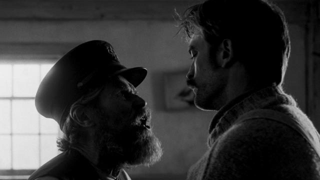 "From <em>The Witch</em> director Robert Eggers comes <a href=""https://uk.movies.yahoo.com/tagged/the-lighthouse"" data-ylk=""slk:this bizarre psychological horror"" class=""link rapid-noclick-resp"">this bizarre psychological horror</a>, in which Robert Pattinson and Willem Dafoe are locked in a lighthouse and allowed to go slowly insane. (Credit: Universal)"