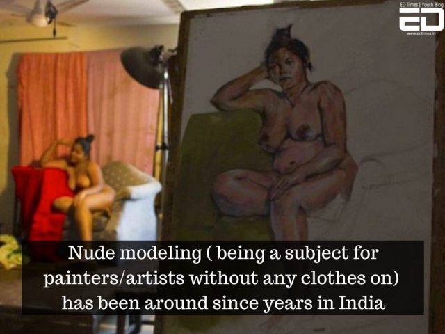nude models in India