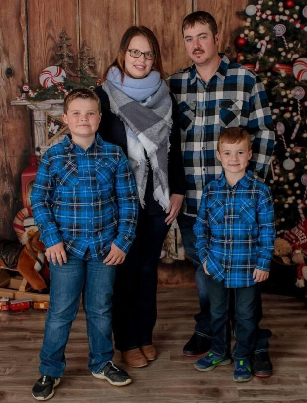 Kerri Lynn Kettle and her husband Isaac had been together for 18 years. They hadn't even celebrated their second wedding anniversary before he died. They had two boys together. Luke is now 10 and Sam is seven.