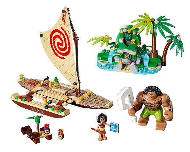 Build Moana's ship with this Lego kit