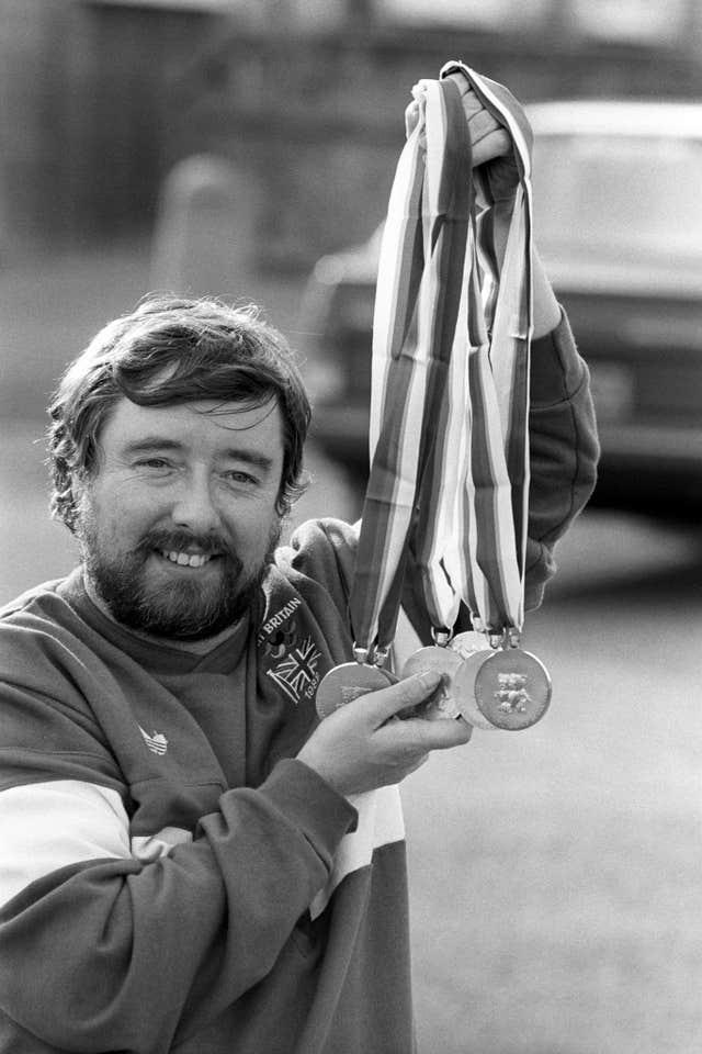 Mike Kenny is Britain's most successful Paralympian with 16 gold medals, won between 1976 and 1988