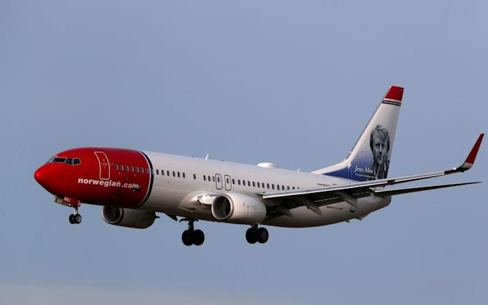 Norwegian landed a £250m government bailout in March that wiped out shareholders