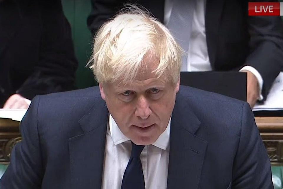 Boris Johnson faces Keir Starmer and MPs at Prime Minister's Questions