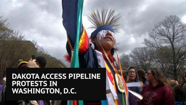 Dakota Access Pipeline protests in Washington DC