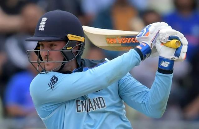 England's Jason Roy in action against Australia in the World Cup semi-final at Edgbaston (AFP Photo/Dibyangshu Sarkar)