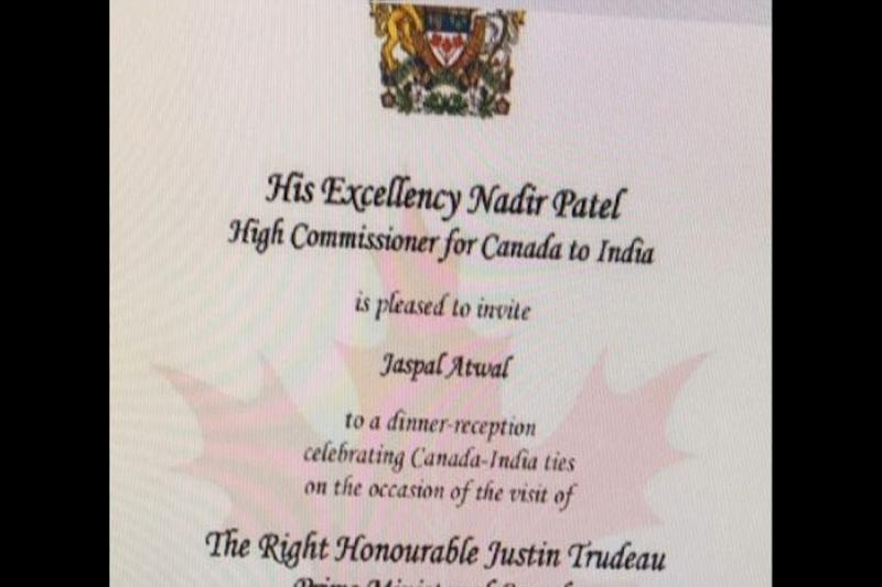 Jaspal Atwal, a convicted former member of a Sikh separatist group, was invited to dine with Canadian Prime Minister Justin Trudeau by the country's High Commissioner to India.