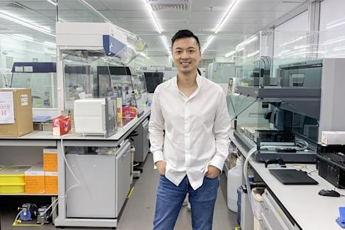 Danny Yeung, CEO of Prenetics at the company's office in Quarry Bay. Photo: Alison Tudor-Ackroyd