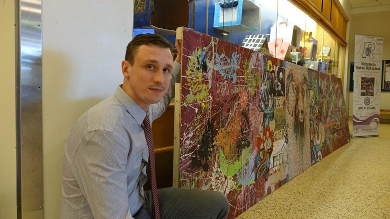Colourful mural to follow Rideau High students to new school