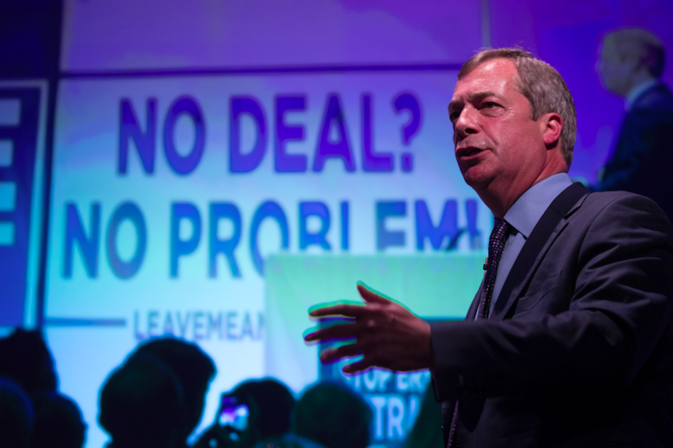 <em>Former Ukip leader Nigel Farage said an extension may ultimately stop Brexit from happening (Getty)</em>