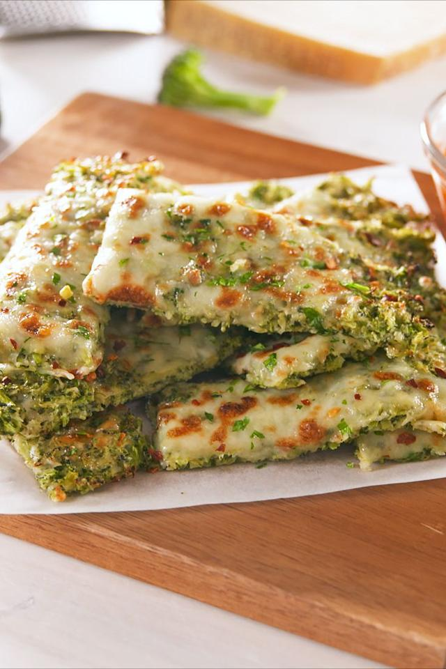 """<p>Lots and lots of cheddar cheese finally makes broccoli kid-friendly.</p><p>Get the recipe from <a rel=""""nofollow"""">Delish</a>.</p>"""