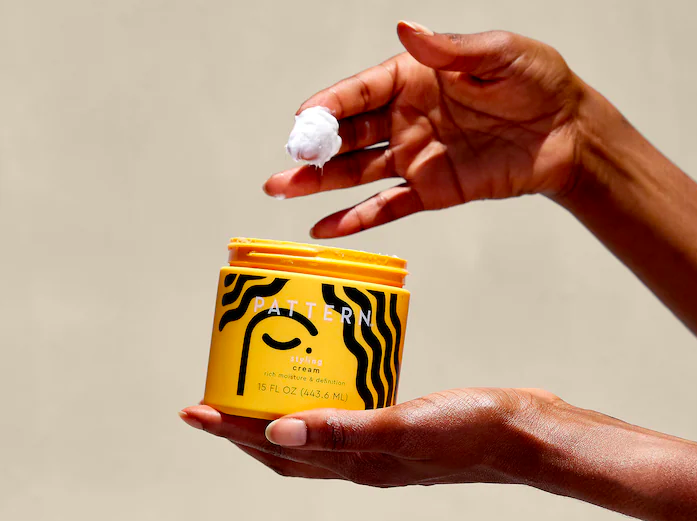 The PATTERN Styling Cream doesn't just moisturize, it also holds your hair in place. Image via Sephora.