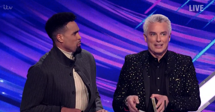 Ashley Banjo offered words of support to Phillip Schofield on Dancing on Ice. (ITV)