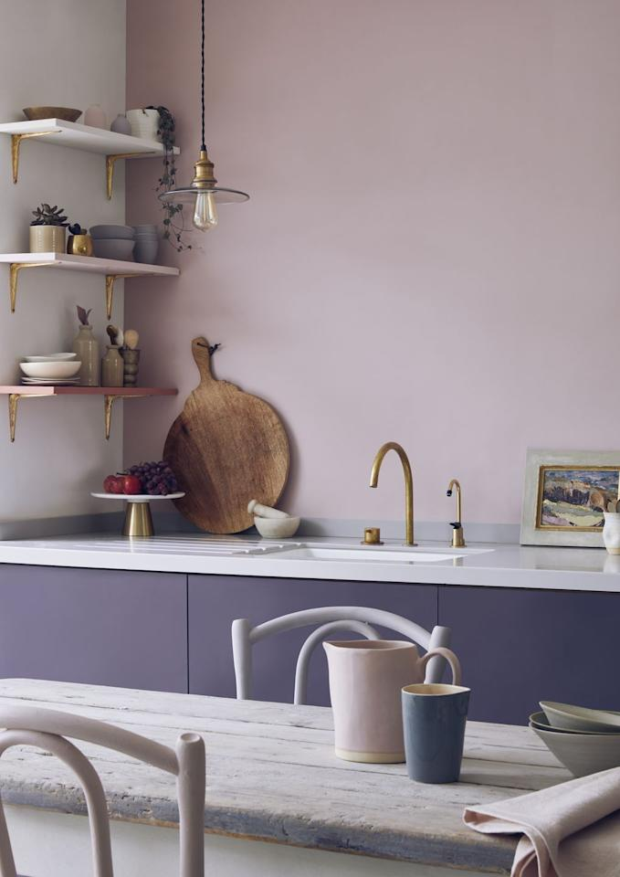 "<p>The 'painted kitchen' is a practical choice, offering a modern take on a more traditional look and finish. This is great for emphasising both furniture and architectural detail, and the ever-versatile grey will continue to be the neutral of the moment, with taupe and light greys through to charcoal and slate grey proving to be the most popular in 2020. </p><p>'Offering a new lease of life to the kitchen cabinet, painted furniture when paired with authentic raw materials like marble and concrete will create a durable kitchen environment that is classic in nature, yet contemporary in finish,' explains the team at  <a href=""http://www.brandtkitchens.co.uk/"" target=""_blank"">Brandt Design</a>. </p><p>Pictured: Painted Kitchen Cupboards in Premixed Aubusson Blue And Emperors Silk Chalk Paint Wall in 2119314, <a href=""https://www.anniesloan.com/"" target=""_blank"">Annie Sloan</a></p>"