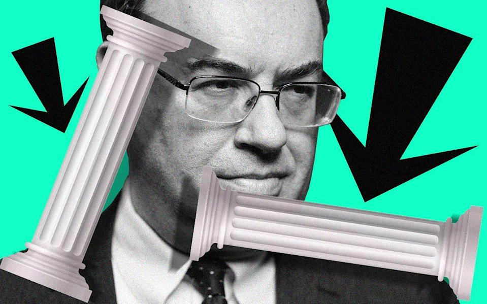 Andrew Bailey is considering whether to use negative rates