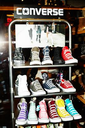 Converse All Stars on display