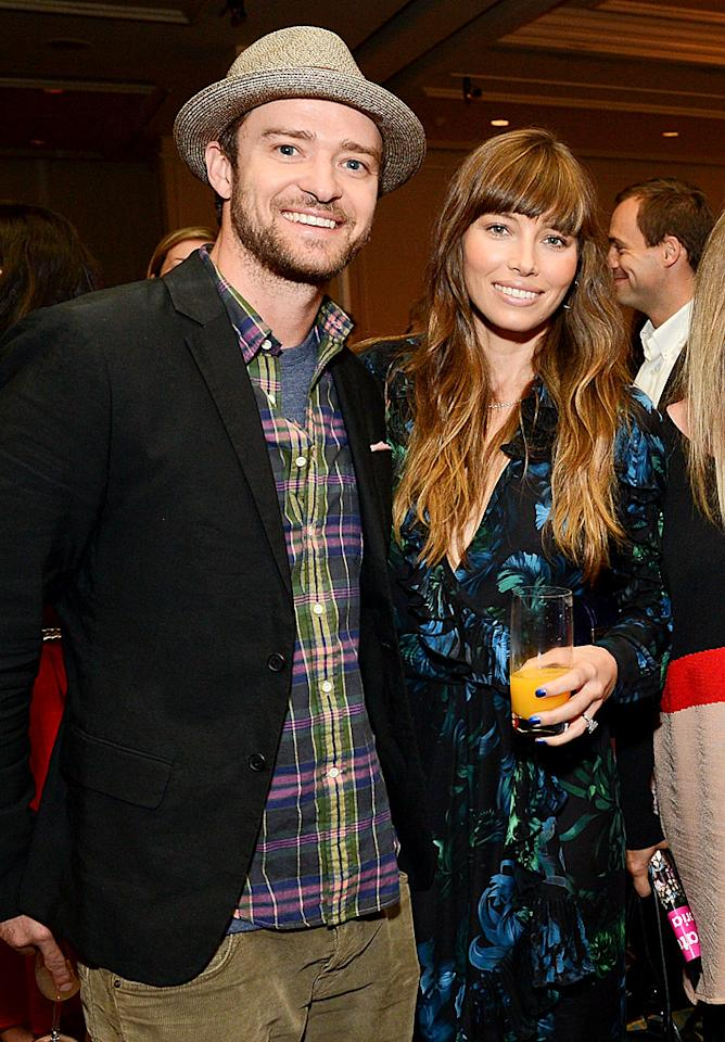 "<p><b>Justin Timberlake and Jessica Biel</b></p>  <p>Justin Timberlake, 31, and Jessica Biel, 30, looked pretty ecstatic in their wedding photo on the cover of <em>People</em> in October. The ""SexyBack"" singer was literally jumping for joy. And while things seem to be picture perfect for them now following their lavish nuptials in southern Italy and $5,715-a-night African honeymoon, ""I do"" was almost out of the question for them at one point. Back in 2011, over three years after they started dating, they called it quits for four months. When they reconciled, a source told <em>Us Weekly</em> that Timberlake ""realized single life is not what it's cracked up to be."" By the end of the year he had popped the question and the rest, as they say, is history.</p>"