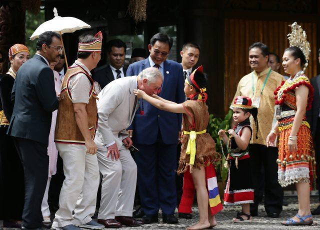 Charles and Camilla in Malaysia
