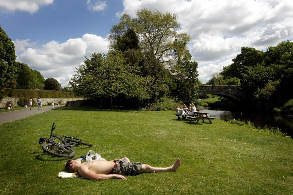 Tyndrum has experienced a heatwave after reaching temperatures of 25C for three consecutive days (PA) (PA Archive)