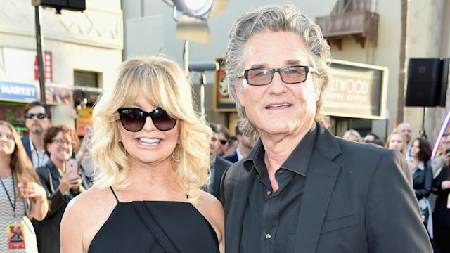 Police caught Kurt Russell, Goldie Hawn having sex on their first date
