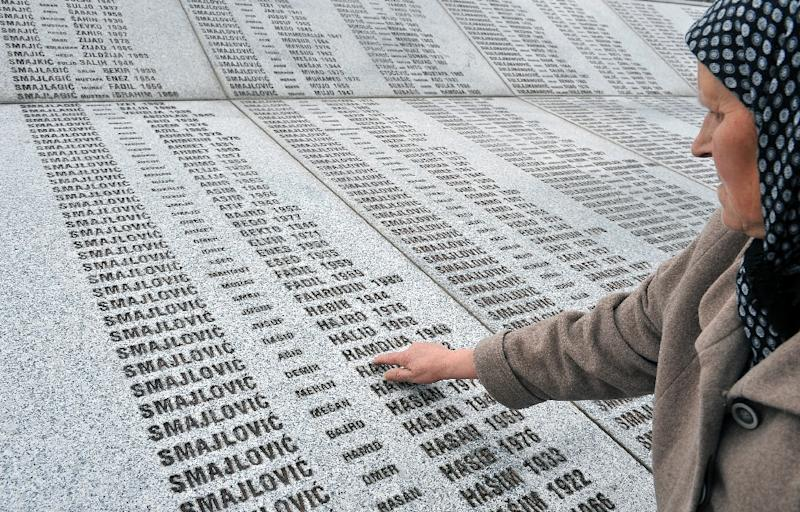 The Srebrenica massacre involved the deaths of 8,000 Muslim men and boys in July 1995, a few months before the end of the bloody Bosnian war (AFP Photo/Elvis Barukukcic)