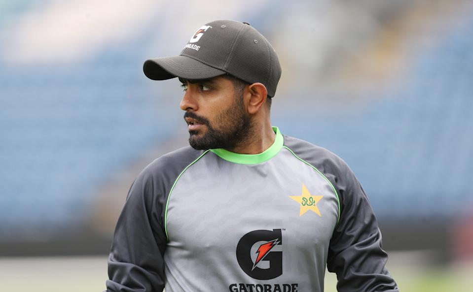 Babar Azam insisted there was no communication from within the Pakistan squad about abandoning their tour of England (PA Wire)