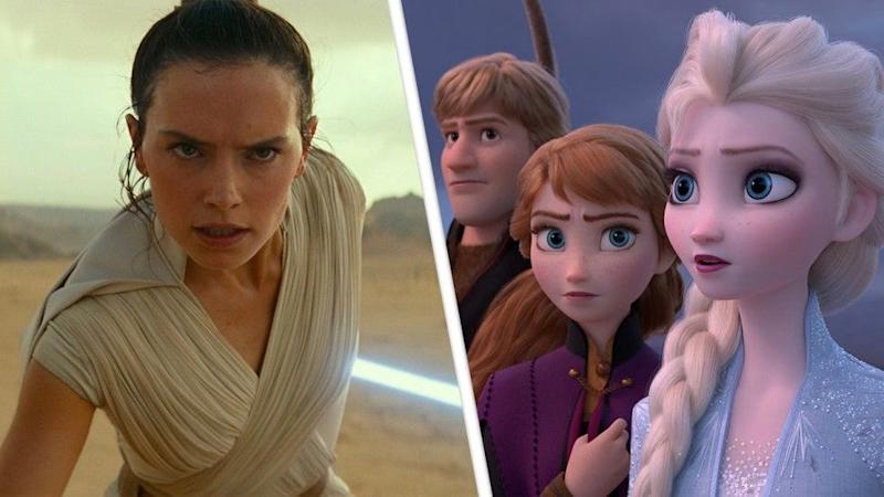 Disney Releases Star Wars: The Rise of Skywalker and Frozen 2 Early