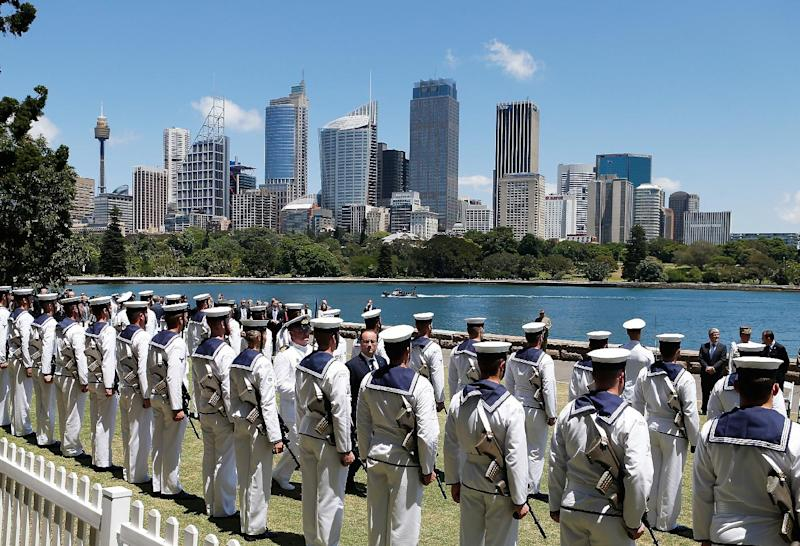 The programme to replace the Collins Class submarines will be the largest defence procurement project in Australian history worth some Aus$50 billion (US$39 billion) (AFP Photo/Daniel Munoz)