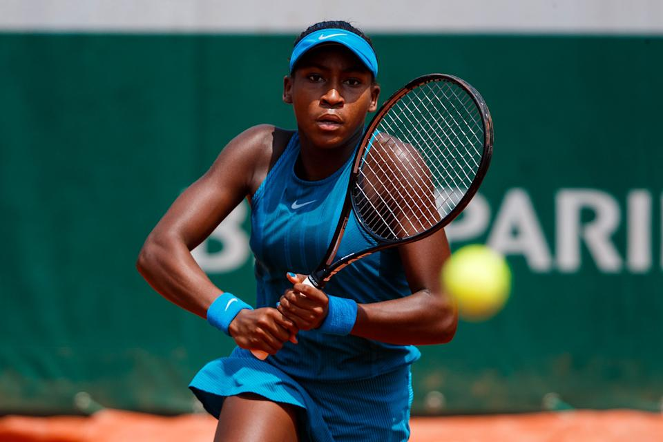 Her parents have a background in collegiate sports. Gauff's dad, Corey, played basketball at Georgia State and her mom, Candi, was gymnast turned track and field athlete at Florida State.