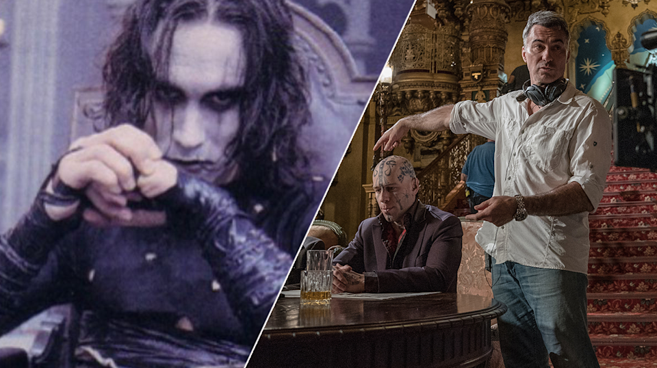 Chad Stahelski opened up to Yahoo Movies UK about his work on The Crow.