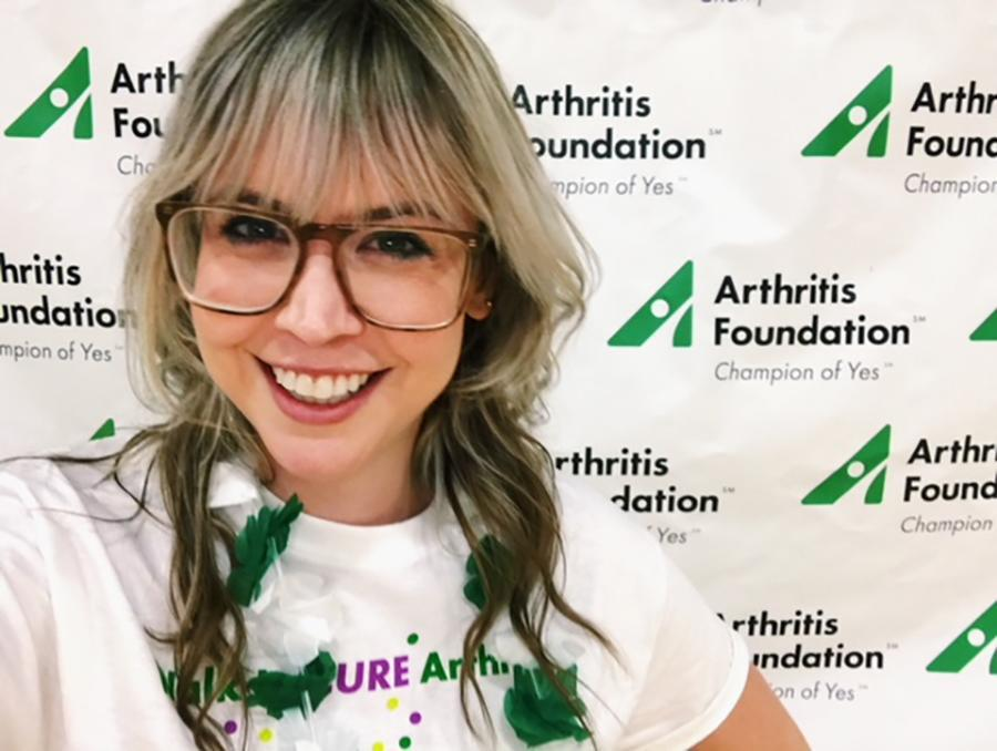 When Meg Maley, 28, first told her boyfriend that she had psoriatic arthritis, he was surprised that it happens to young people. (Photo: Meg Maley)