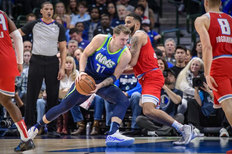 Luka Doncic continues to assault the NBA record book, with Michael Jordan as his latest victim. (Jerome Miron-USA Today)