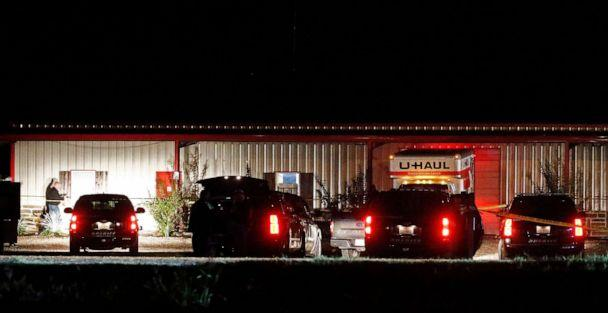 PHOTO: Police vehicles sit outside the Party Venue after a shooting in Greenville, Texas, Oct. 27, 2019. (Larry W Smith/EPA via Shutterstock)
