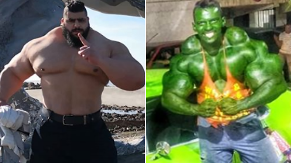 'Iranian Hulk' Sajad Gharibi and 'Brazilian Hulk' Romario dos Santos Alves could be inching towards a meeting in the MMA ring.
