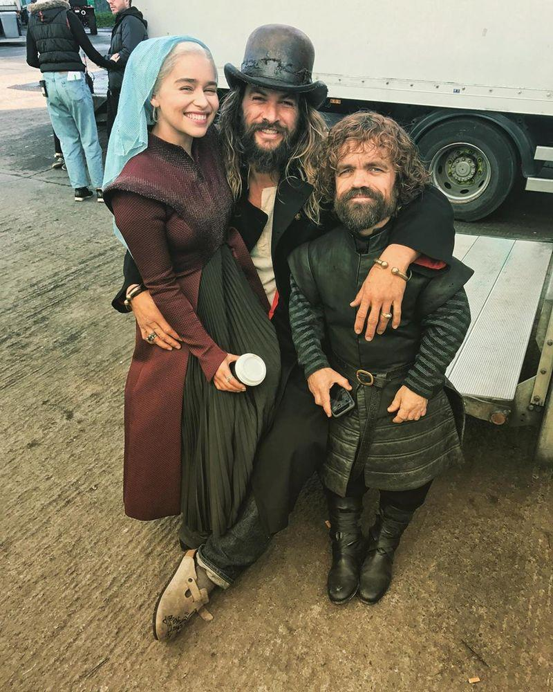 Cast clash over Game of Thrones' controversial coffee cup calamity