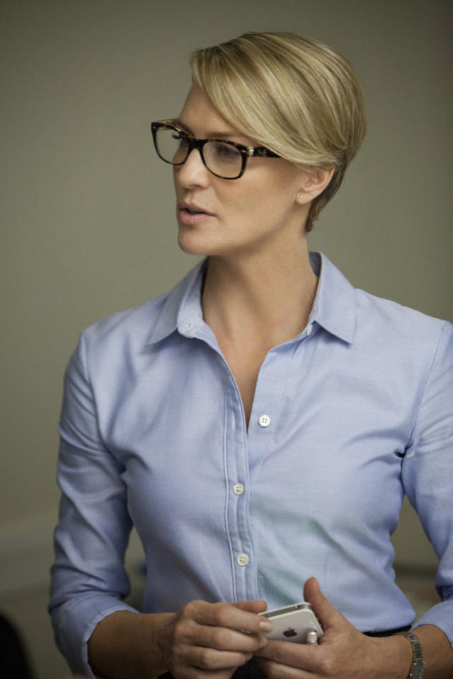 "Robin Wright in the ""House of Cards"" Season 1 episode, ""Chapter 6."""