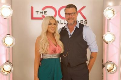 Tori Spelling, host + Dean McDermott, guest judge