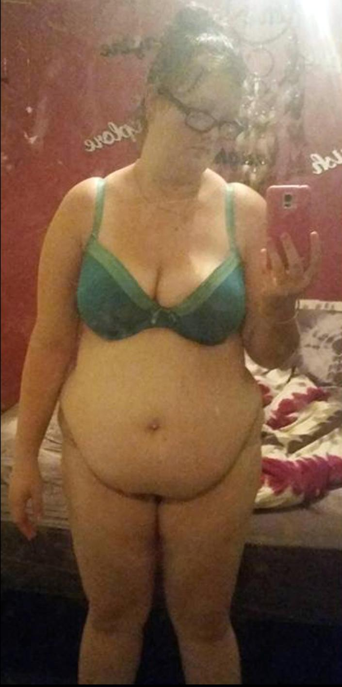 Breanna weighed 19st 2lbs before [Photo: Caters News Agency]