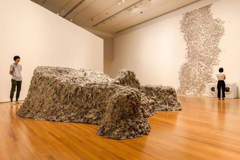 Huang Yong Ping's 1989/2013 Reptiles. (PHOTO: National Gallery Singapore)