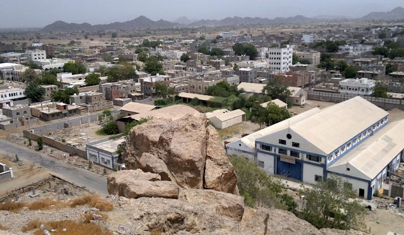 A general view of the Yemeni town of Jaar in the southern restive region of Abyan (AFP Photo/-)