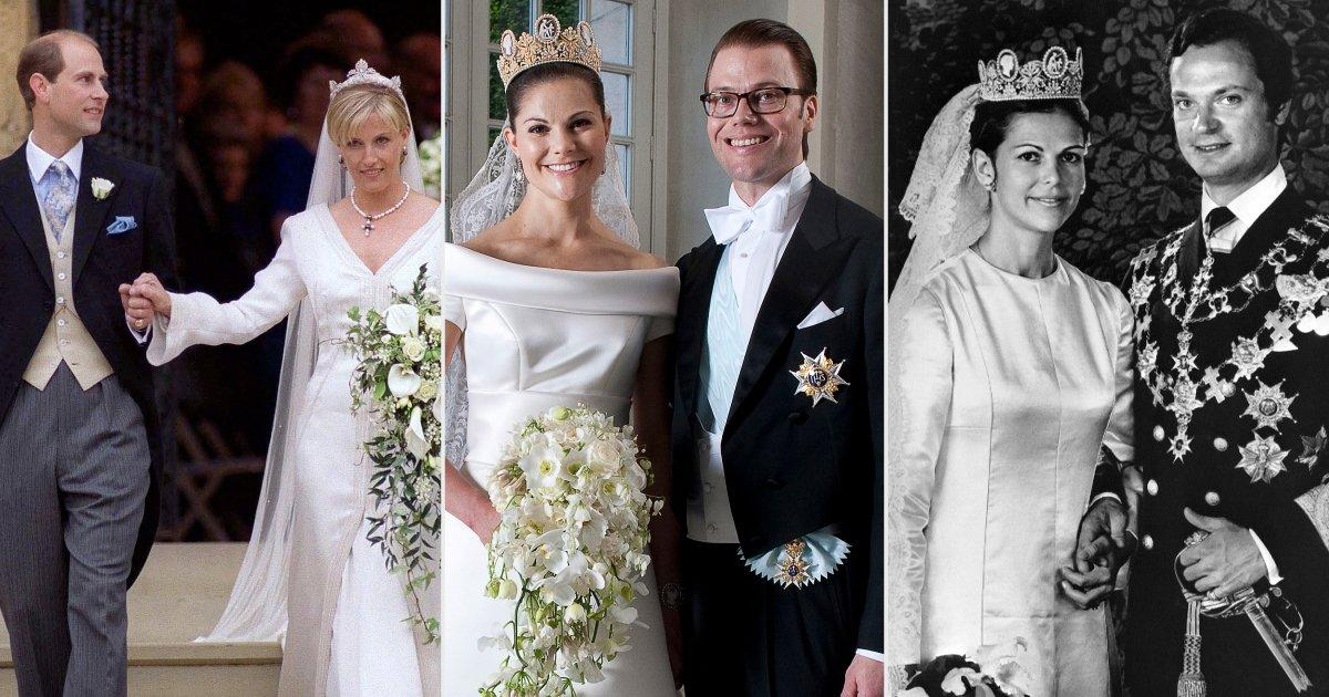 3 Royal Brides, 1 Special Day! See the Gorgeous Throwback Photos of Sophie, Victoria and Silvia
