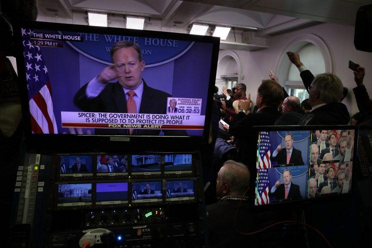 Image result for WHITEHOUSE SKYPE ROOM PRESS BRIEFING ROOM