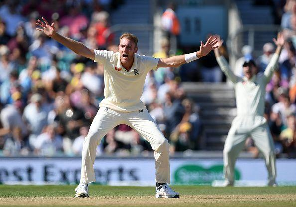Stuart Broad's hat- tricks have come against teams from the sub-continent.