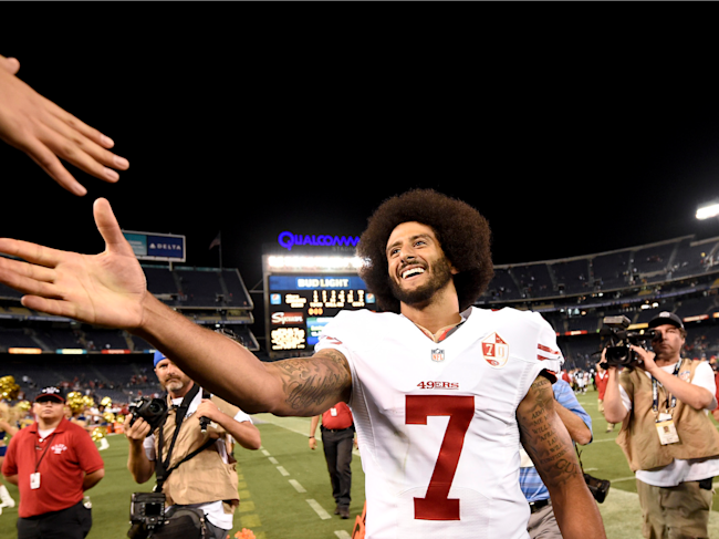 colin kaepernick week 4